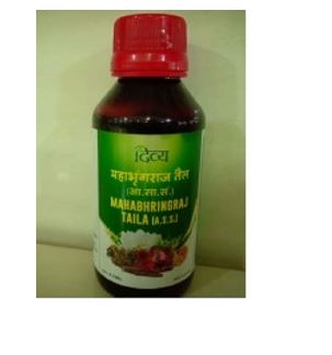 Patanjali Divya Mahabhringraj Hair Oil - Pack of 2