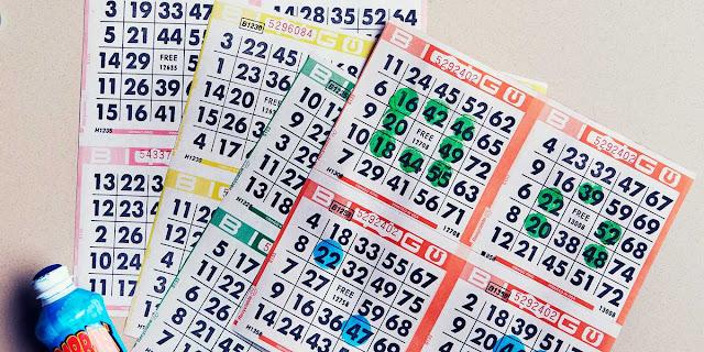 Real bingo game at casino