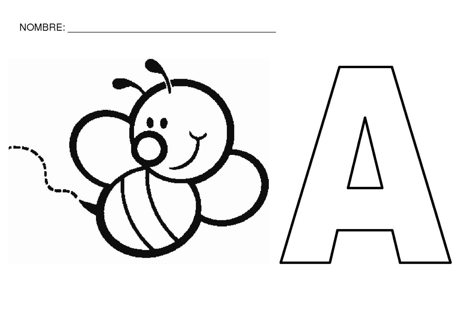 Desenhos Para Colorir Letras Pampekids Net