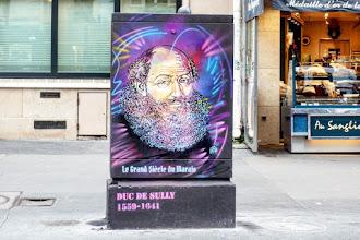 Sunday Street Art : C215 - Duc de Sully - Parcours Le Grand Siècle du Marais - rue de Rivoli - Paris 4
