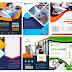 #بروشور_Brochure_psd | مجموعة  بروشور فيكتور او PSD بألوان مختلفة  جاهز للتعديل عليه #مصممين_الدعايهة_والاعلان  brochure template Free Vector