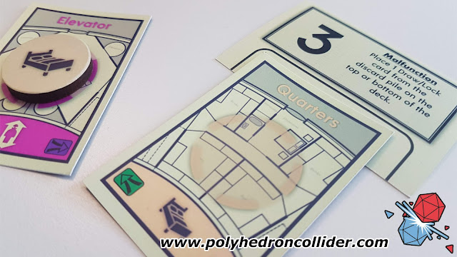 Polyhedron Collider Assembly Review - Malfunction Card