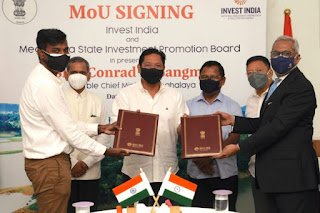MSIP signed MoU with Invest India