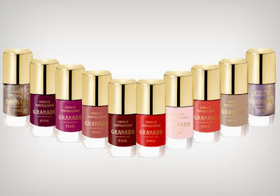 Todas as cores de esmaltes granado coleção divas da música