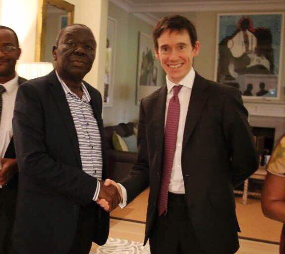 Image result for Rory Stewart, mnangagwa