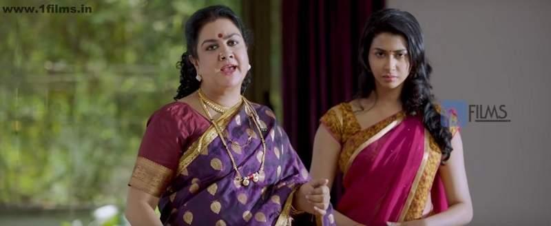 Gayatri Iyer in a still from Movie Jaggu Dada