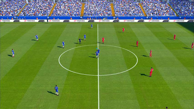 PES 2017 UNREAL Pitch