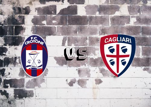 Crotone vs Cagliari  Resumen
