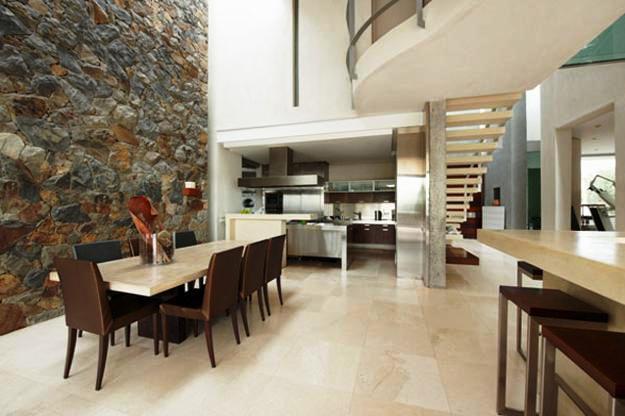 06. Interior Rumah Minimalis dengan Batu Alam