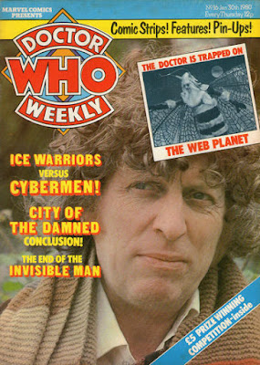 Doctor Who Weekly #16, Tom Baker