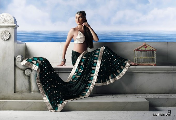 Latest Designs Party Wear Sarees