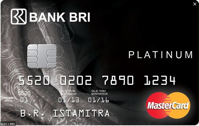 Cara Membuat Kartu kredit BRI Platinum