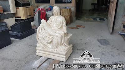 Jual Patung Pieta Murah, Jual Patung Malaikat Marmer, Harga Patung Rohani