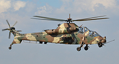 Denel AH-2 Rooivalk Helicopter