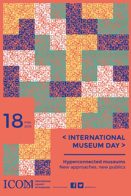 अन्तर्राष्ट्रीय संग्रहालय दिवस 2018 का आधिकारिक पोस्टर International Museum Day 2018 Official Poster