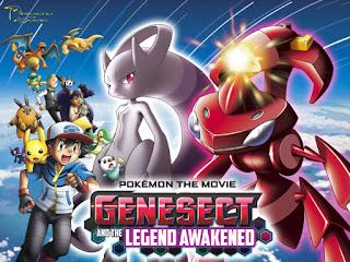 Pokemon Movie 16: POKEMON THE MOVIE GENESECT AND THE LEGEND AWAKENED   Anime Episode