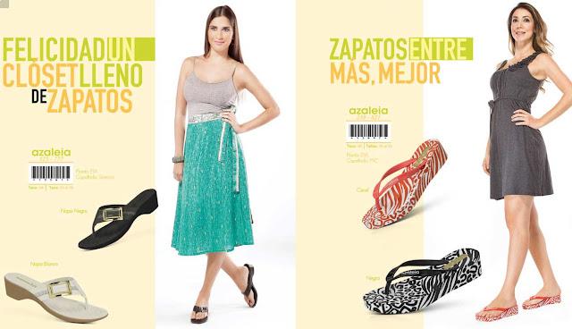 Zapatos azaleia para estilo veraniego 2016