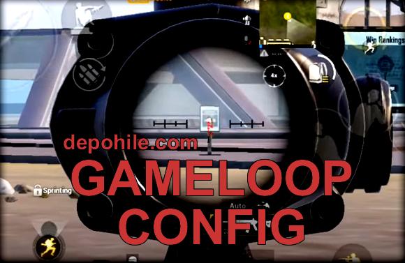 Pubg Mobile 1.5 Çimli Sekmeme Config Gameloop Emulator PC