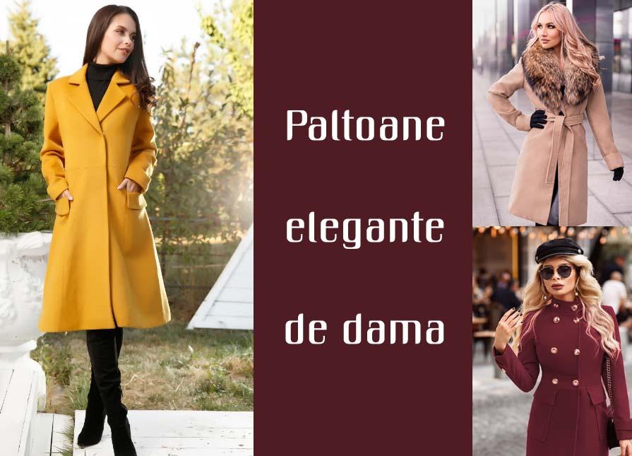 Paltoane dama elegante ieftine iarna 2020 scurte si lungi modele noi la oferta