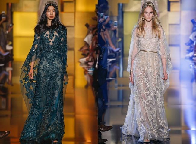 ELIE SAAB haute-couture dresses