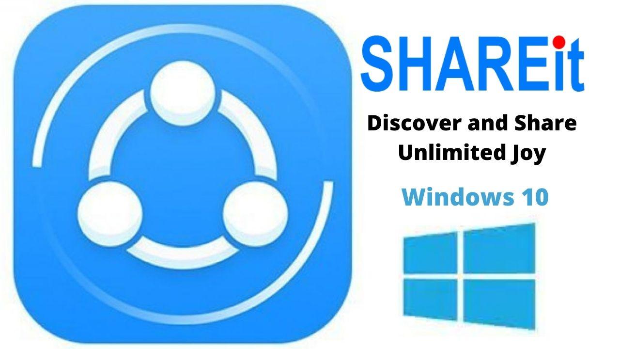SHAREit Free Download For Windows 10 Latest Version