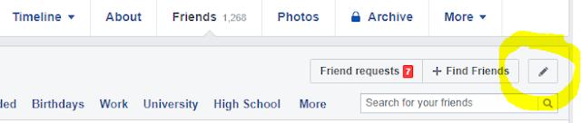 Friends Tab Facebook Ka