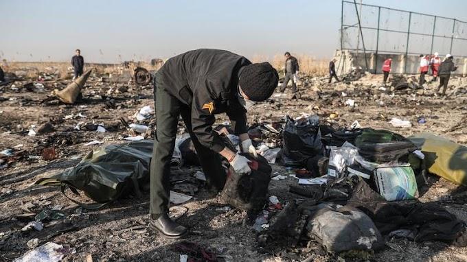 Lezuhant ukrán utasszállító: rakéta maradványait is keresik