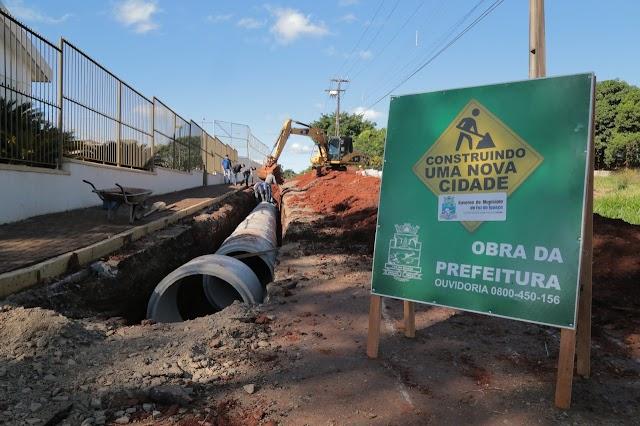 Novas obras da Prefeitura de Foz vão acelerar retomada econômica