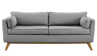 affordable modern gray couch