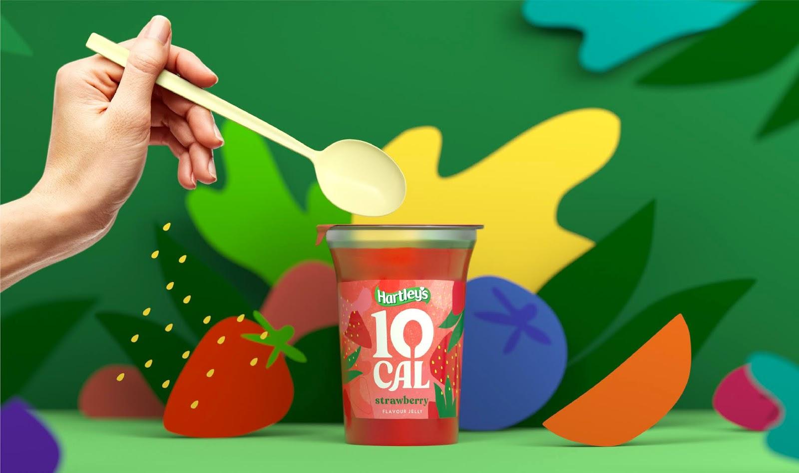 Hartley's 10 Cal Jelly