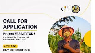 APPLY: 2021 Carrington Youth Fellowship Initiative (CYFI) Project Farmtitude For Agripreneurs