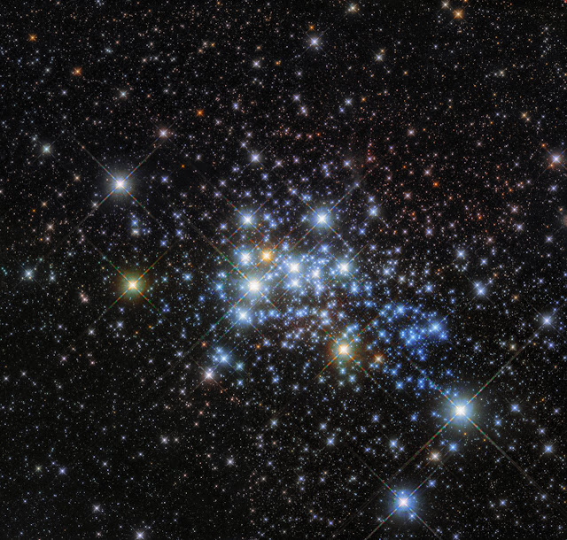 Hubble homes in on a hypergiant's home