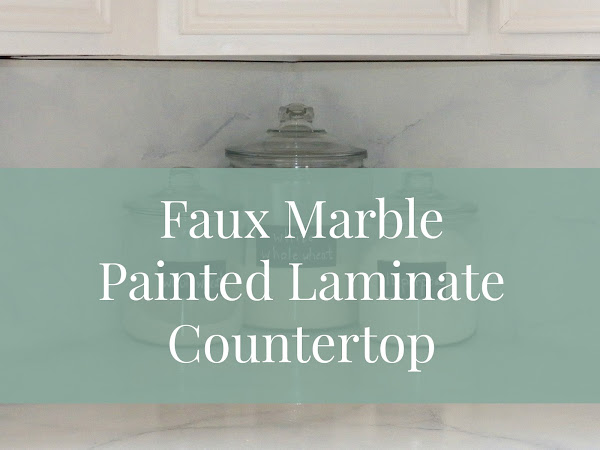 The Kitchen Project -  Faux Marble Counters Sort of How-To