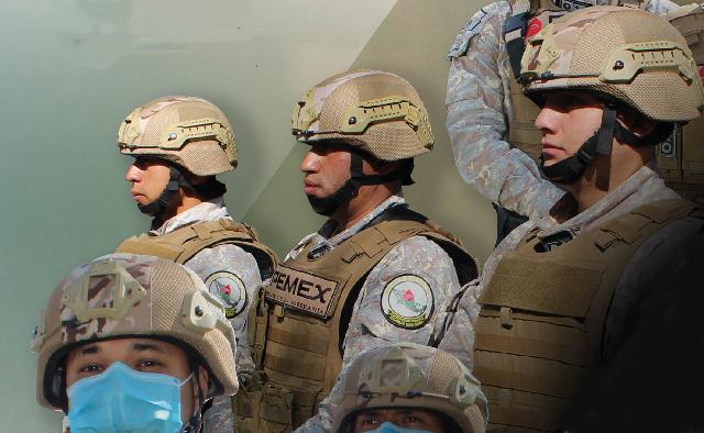 Invita Pemex a militares en retiro a incorporarse a la Subdirección de Salvaguardia Estratégica