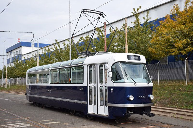 762c777e7f64ee T3 Coupé  A Sightseeing Tram for Prague by Anna Maresova