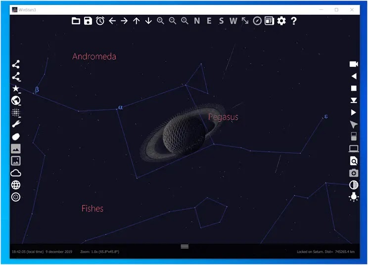 WinStars 3 : Ταξιδέψτε στο ηλιακό μας σύστημα και στο αχανές σύμπαν