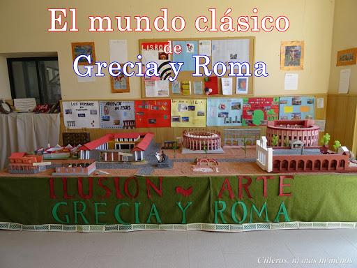 EL MUNDO CLÁSICO DE GRECIA Y ROMA