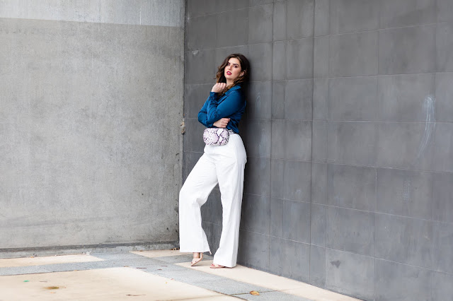 How to wear white pants without anxiety