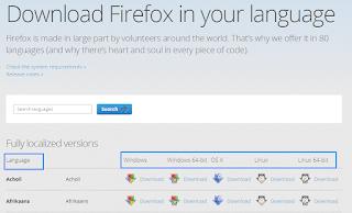 Download Mozilla Firefox Versi Terbaru Gratis  Offline/Online