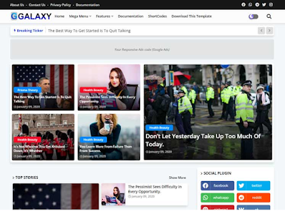 Best responsive blogger templates for Adsense approval