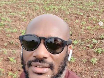 Nigerian Musician, 2Face Shows Off His Massive Farm Land In Benue (Video)