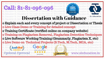 Dissertation with Guidance (Call: 81-81-096-096)