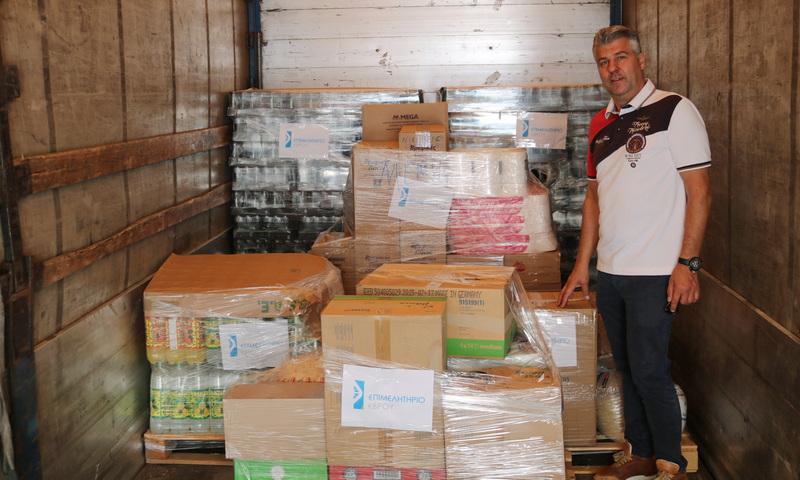 Προσφορά υλικής και οικονομικής βοήθειας από το Επιμελητήριο Έβρου στους πυρόπληκτους της Εύβοιας