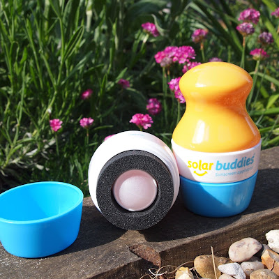 Solar Buddies are so easy to apply and use