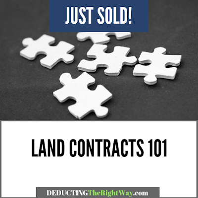 how do land contracts work? | www.deductingtherightway.com