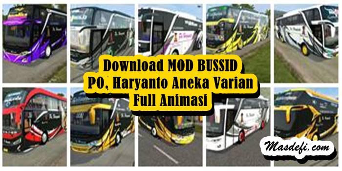 mod bussid po haryanto