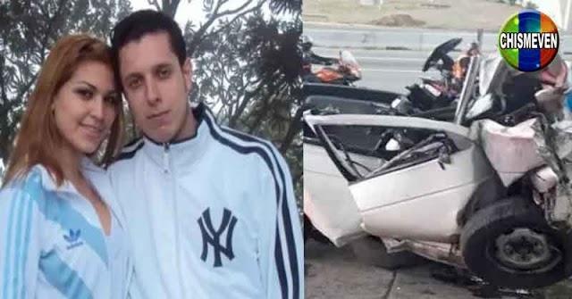Asfixió a su mujer y luego se mató chocando su camioneta en Caracas