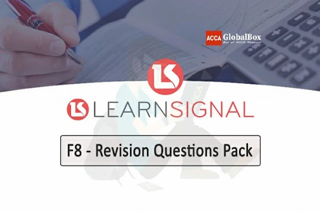 F8 - AA | Quesion Pack | Learn Signal