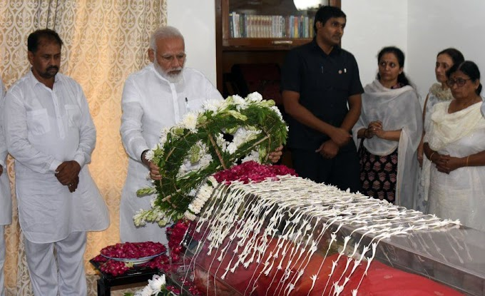 A glorious chapter in Indian politics comes to an end: Narendra Modi on Sushma Swaraj
