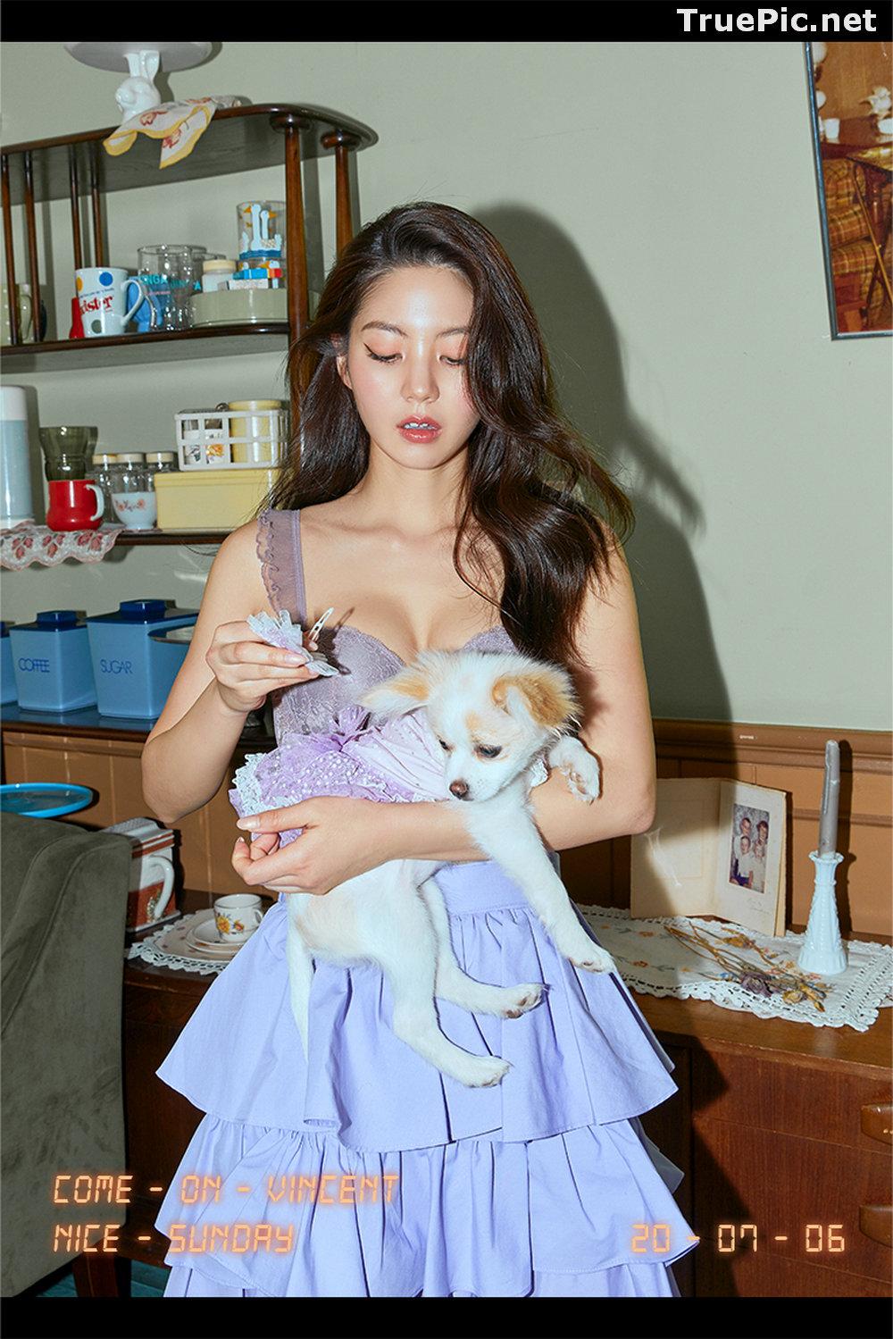Image Korean Fashion Model – Lee Chae Eun (이채은) – Come On Vincent Lingerie #3 - TruePic.net - Picture-6